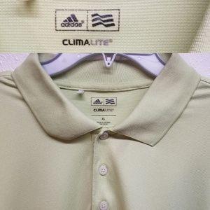 Adidas Green Climalite XL Polo Shirt